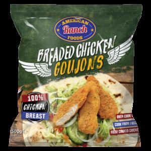 Breaded Goujons